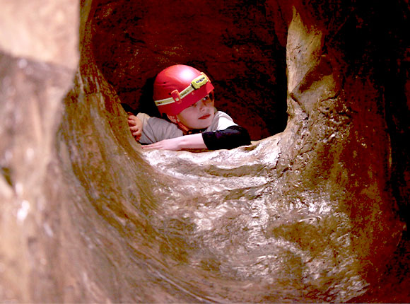 Caving party